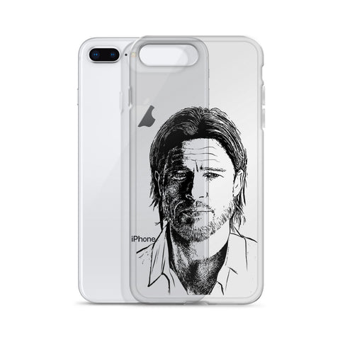 Brad Pitt iPhone Phone Case