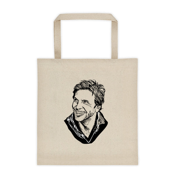 Bradley Cooper Canvas Tote Bag, Babes & Gents, www.babesngents.com