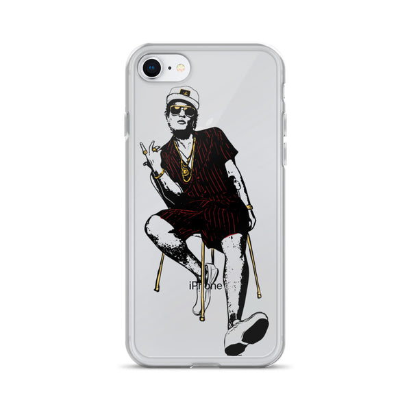 Bruno Mars Apple IPhone Case  // Babes & Gents // www.babesngents.com