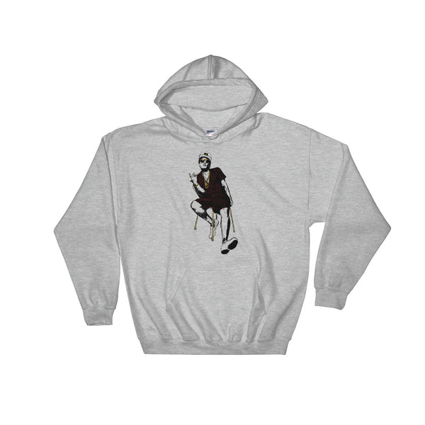 Bruno Mars Grey Hoodie Sweater (Unisex), Babes & Gents, Ottawa