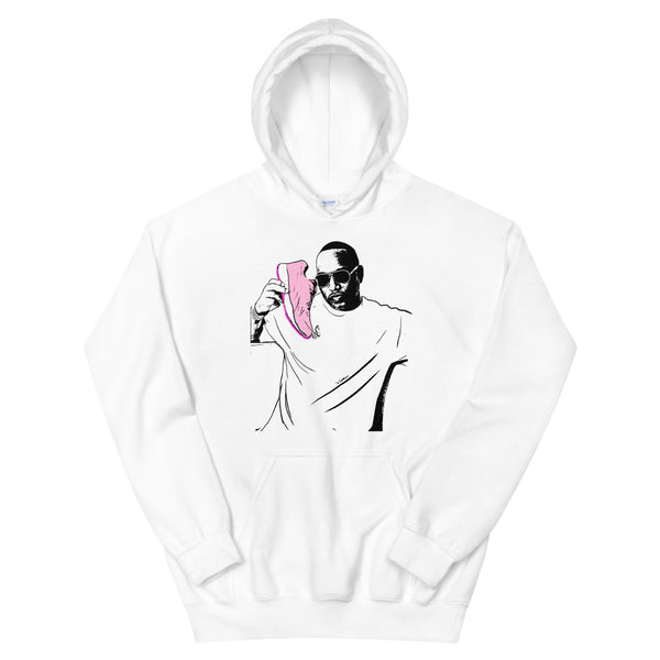 Cam'ron White Hoodie Sweater (Unisex), Babes & Gents