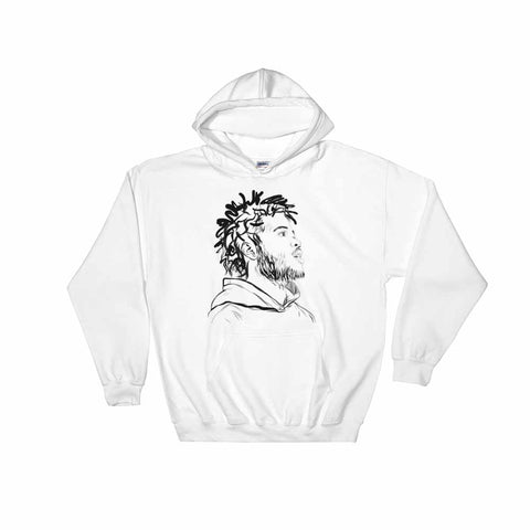 Capital Steez White Hoodie Sweater (Unisex)