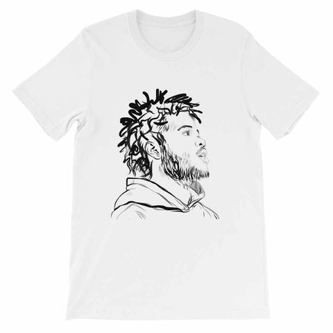 Capital Steez White Tee (Unisex)