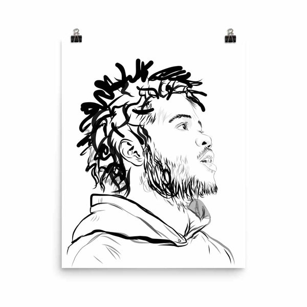 Capital Steez Art Poster (6 sizes) // Babes & Gents // www.babesngents.com
