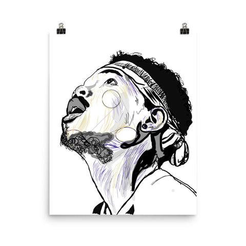 Chance the Rapper 2 Art Poster (8x10 to 24x36)
