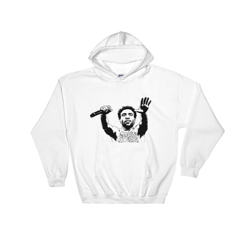 Childish Gambino 2 White Hoodie Sweater