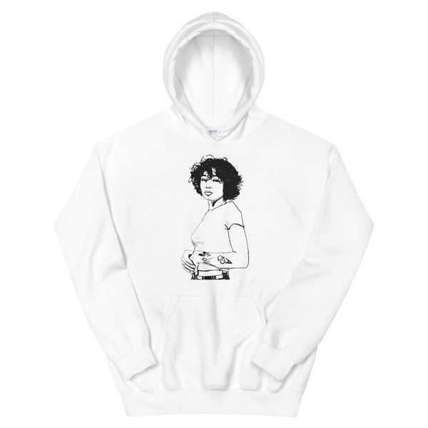 Coi Leray White Hoodie Sweater (Unisex), Babes & Gents