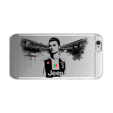 Cristiano Ronaldo Juventus Apple IPhone Case