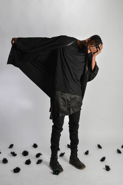 "Bat Sleeve Long Cardigan (Unisex) // Zargara Season 4 ""The Flower Rises"" // www.zargara.com"