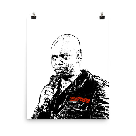 Dave Chappelle 11x17 Art Poster