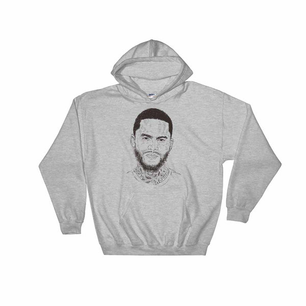 Dave East Grey Hoodie Sweater (Unisex) , Babes & Gents, Ottawa