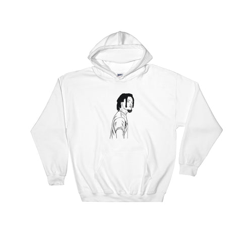 Denzel Curry White Hoodie Sweater (Unisex)