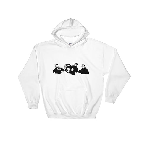 Drake In My feelings White Hoodie Sweater (Unisex)