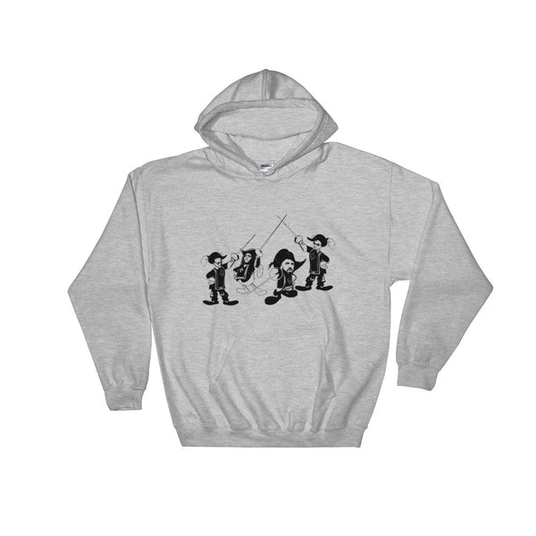 Drake and The Migos Grey Hoodie Sweater (Unisex), Babes & Gents, Ottawa