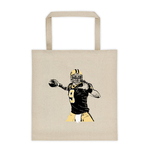 Drew Brees Canvas Tote Bag