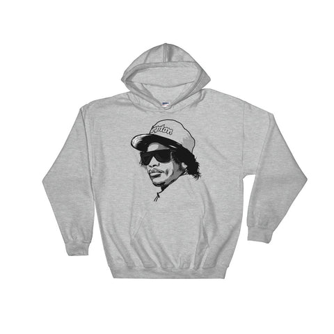 Eazy-E EazyE from NWA Compton 2 Grey Hoodie Sweater (Unisex)