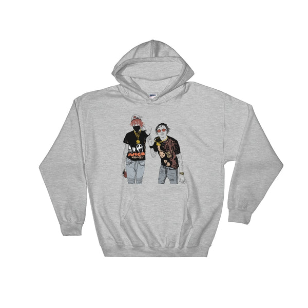 Famous Dex and Rich the Kid Grey Hoodie Sweater (Unisex), Babes & Gents, Ottawa