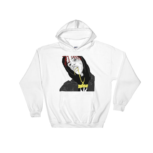 Famous Dex White Hoodie Sweater (Unisex), Babes & Gents, Ottawa