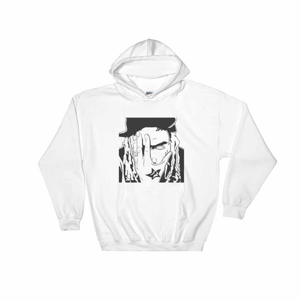 Fetty Wap White Hoodie Sweater (Unisex) , Babes & Gents, Ottawa