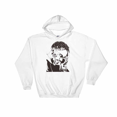 Travis Scott 2 White Hoodie Sweater (Unisex)