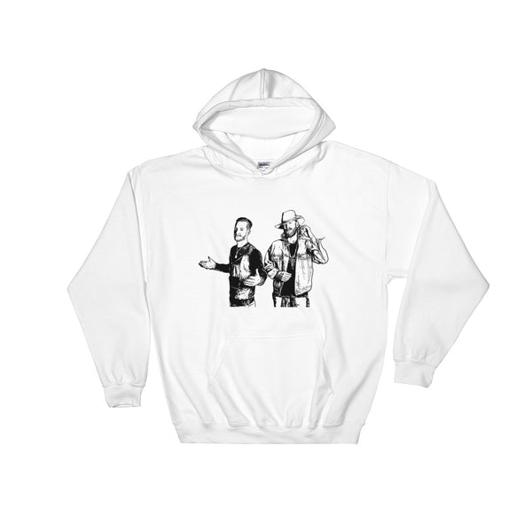 Florida Georgia Line White Hoodie Sweater (Unisex), Babes & Gents, Ottawa