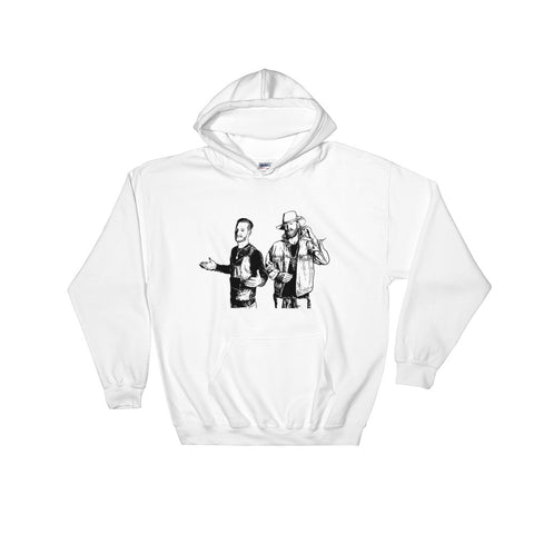 Florida Georgia Line White Hoodie Sweater