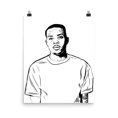 G Herbo GHerbo Art Poster (8x10 to 24x36)