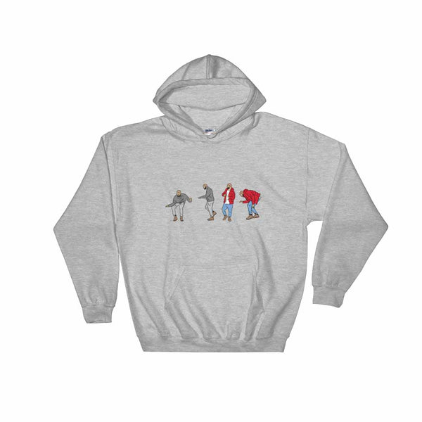 Hotline bling dance Grey Hoodie Sweater (Unisex) , Babes & Gents, Ottawa