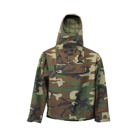 Camo Hooded Windbreaker (Unisex)