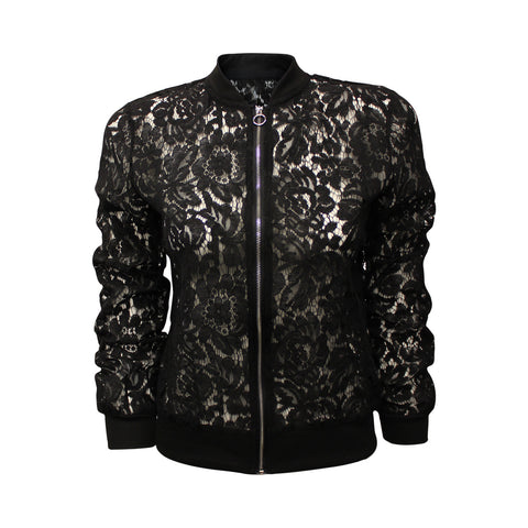 """Personal Invite"" Lace Zip-up Jacket (Female)"