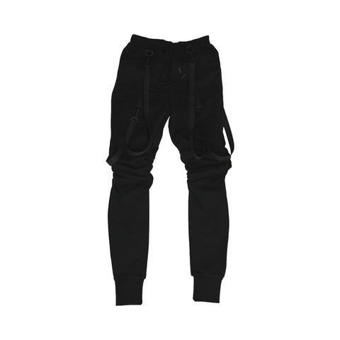 """Exchanging Glances"" Strapped Joggers (Unisex)"