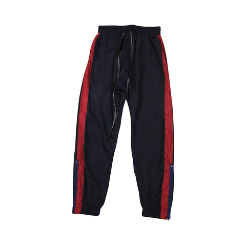 Navy + Red Stripes Track Pants (Unisex)
