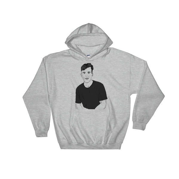Jake Paul Grey Hoodie Sweater (Unisex), Babes & Gents, Ottawa