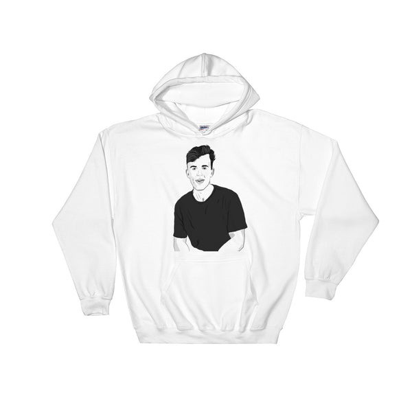 Jake Paul White Hoodie Sweater (Unisex), Babes & Gents, Ottawa