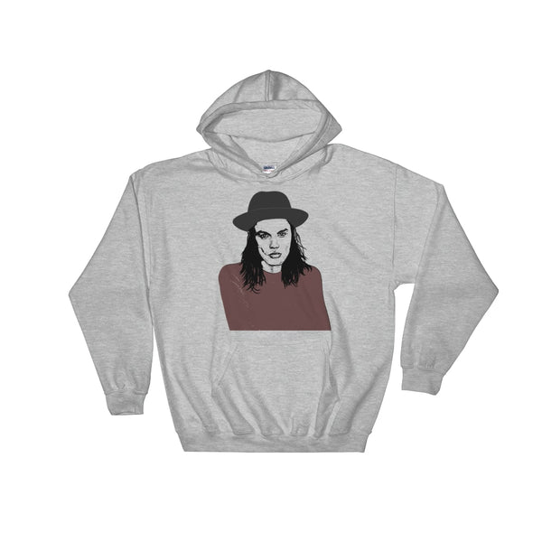 James Bay Grey Hoodie Sweater (Unisex), Babes & Gents, Ottawa