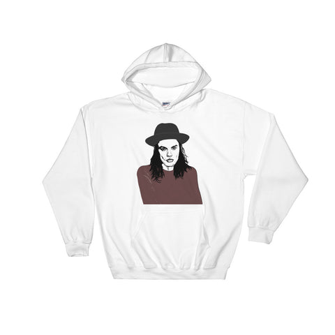 James Bay White Hoodie Sweater (Unisex)