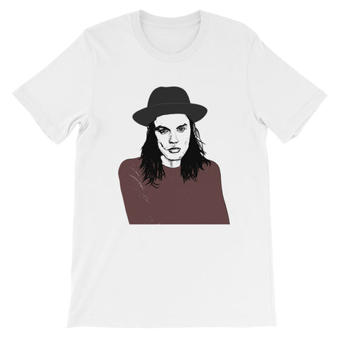 James Bay White Tee (Unisex)
