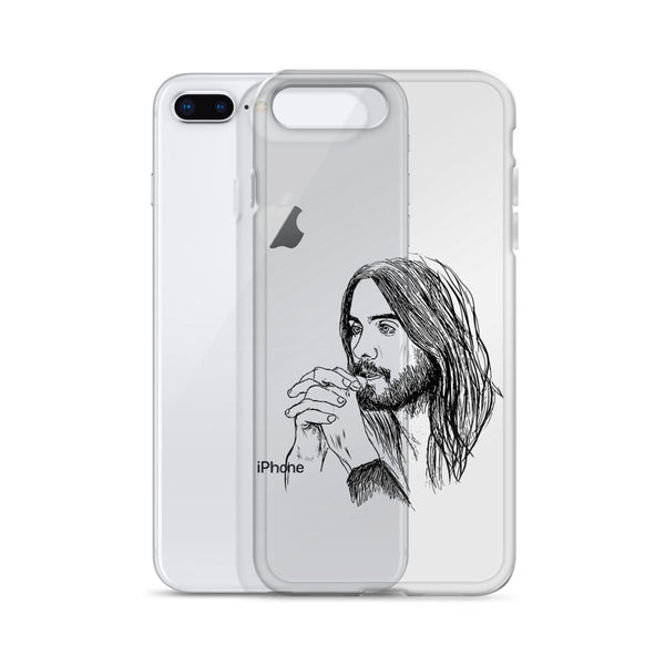 Jared Leto iPhone Phone Case  // Babes & Gents // www.babesngents.com