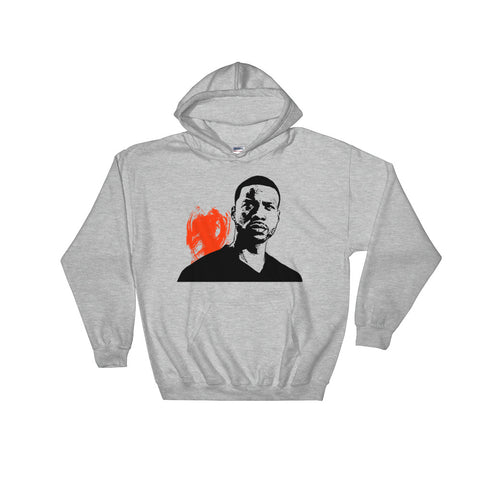 Jay Rock Grey Hoodie Sweater (Unisex)