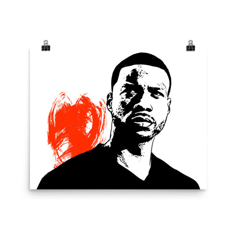 Jay Rock Art Poster (8x10 to 24x36)