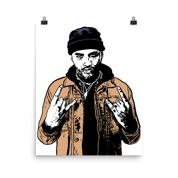 Joyner Lucas Art Poster (6 sizes) // Babes & Gents // www.babesngents.com