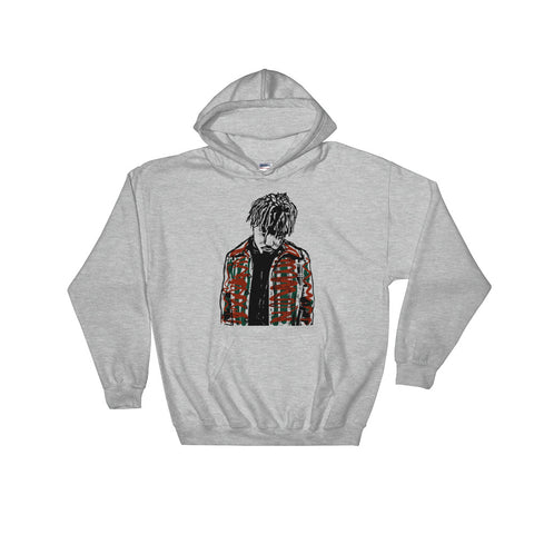 Juice Wrld Grey Hoodie Sweater (Unisex)