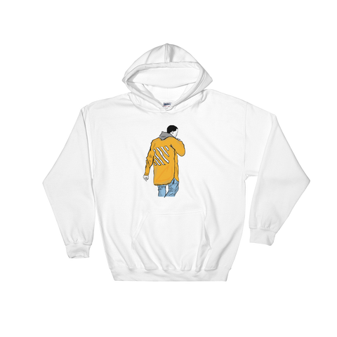 Kanye West Yeezy in Off White White Hoodie Sweater (Unisex)