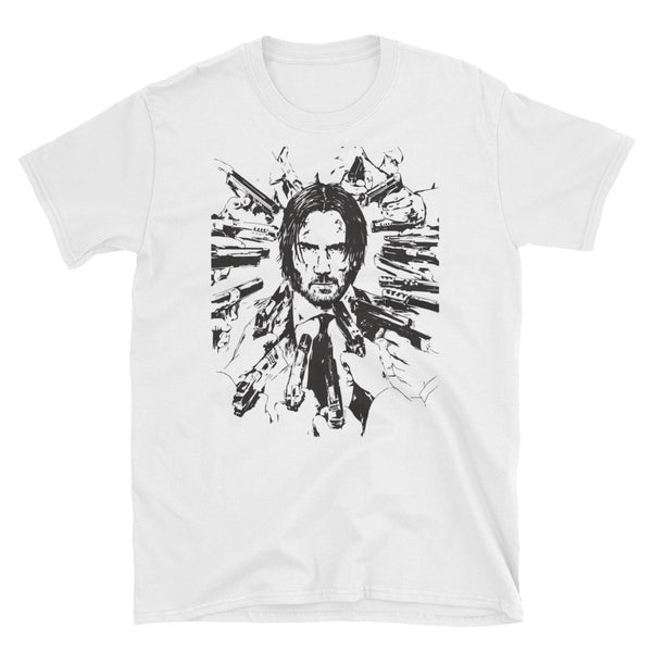 Keanu Reeves White Tee (Unisex) // T-shirt // Babes & Gents // www.babesngents.com