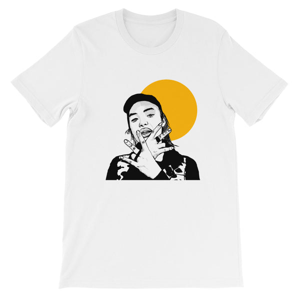 Keith Ape White Tee (Unisex) // T-shirt // Babes & Gents // www.babesngents.com