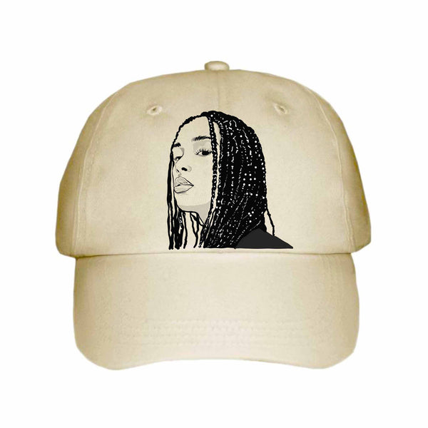 Jorja Smith Khaki Hat/Cap // Babes & Gents // www.babesngents.com