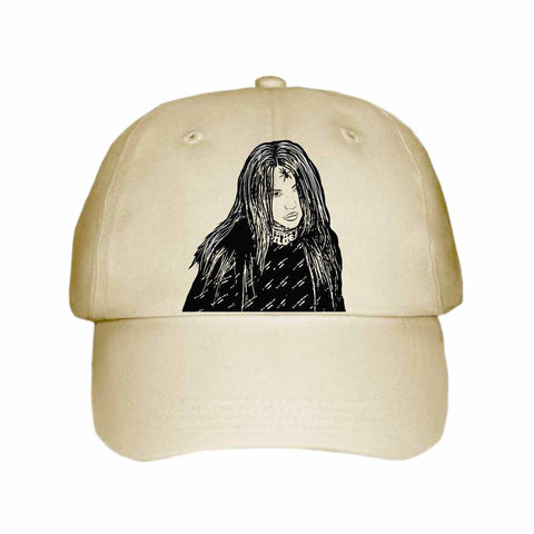 Billie Eilish Khaki Hat/Cap