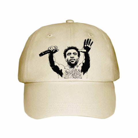 Childish Gambino 2 Khaki Hat/Cap