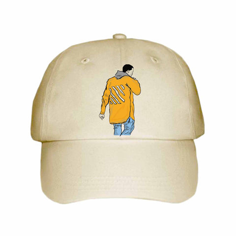 Kanye West Yeezy in Off White Khaki Hat/Cap