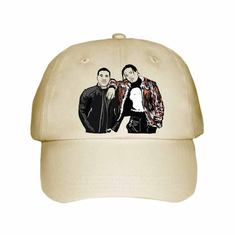 ASAP Rocky and ASAP Ferg A$AP Khaki Hat/Cap
